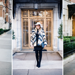 Three Ways to Style a Bold Faux Fur Jacket