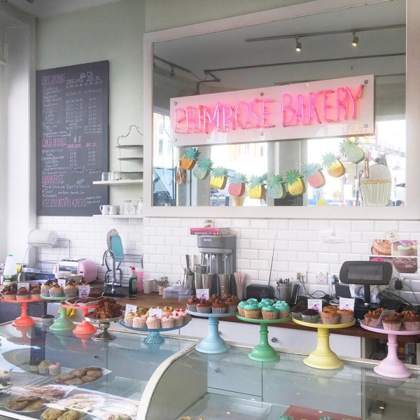 The sweetest little bakery was just around the corner fromhellip