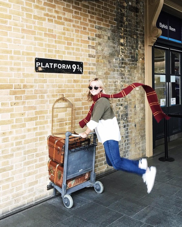 Sooo this happened today Off to Hogwarts! jetsetjrs hogwarts londonhellip