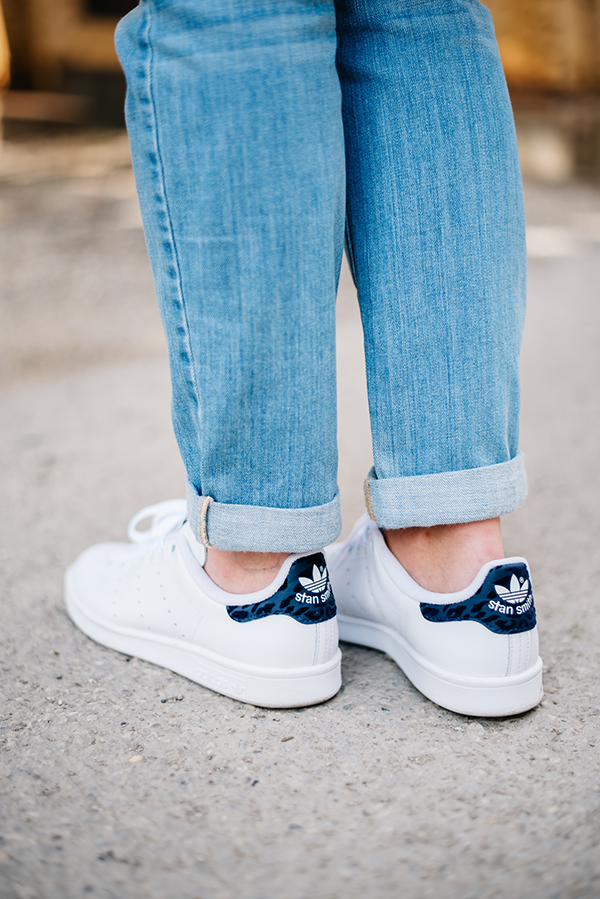 adidas stan smiths navy blue