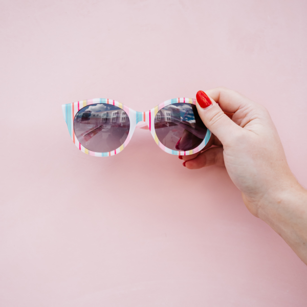 kate spade striped sunglasses