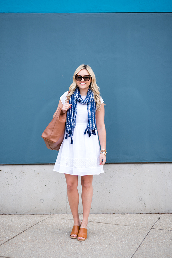 old navy white linen dress