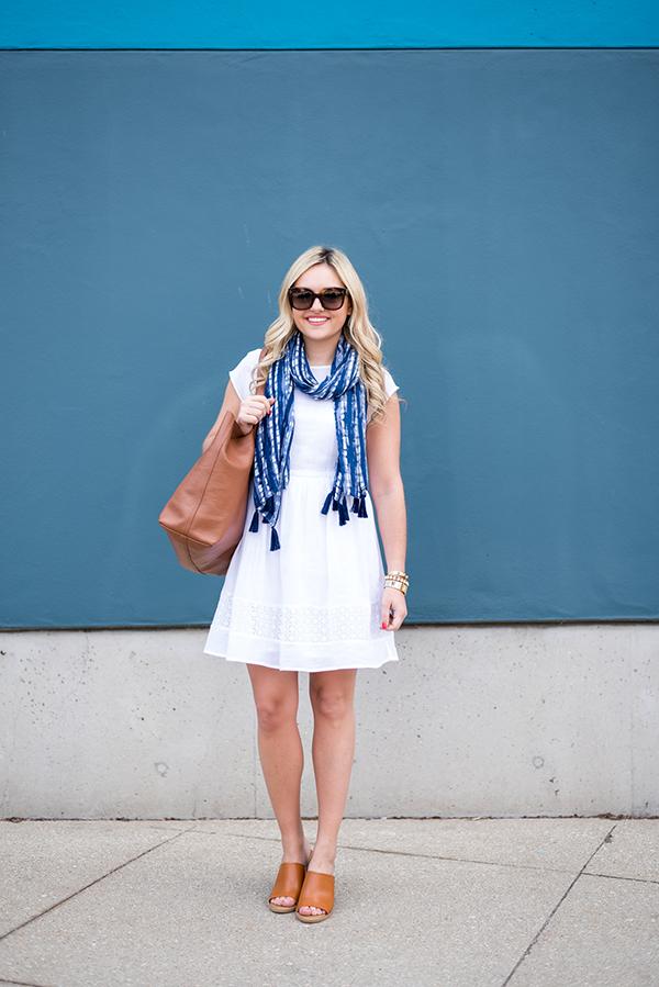 old navy white linen dress