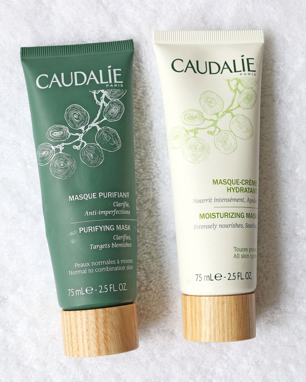 Caudalie Face Masks Purifying Moisturizing