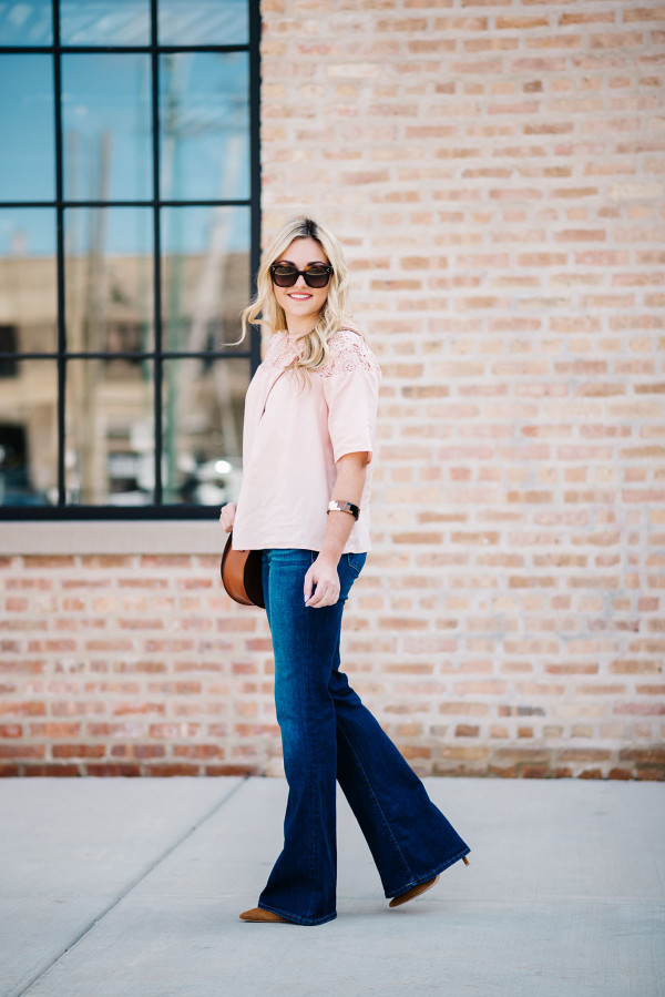 flare jeans cute outfit ideas