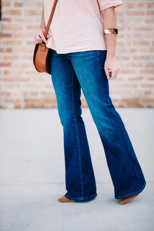flared jeans women