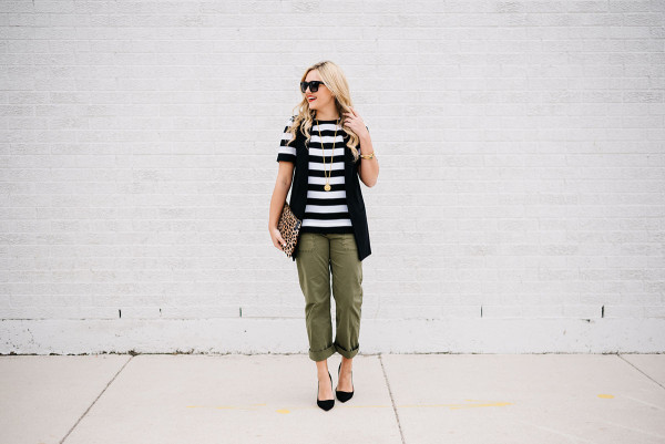 how to wear chino pants to work outfit