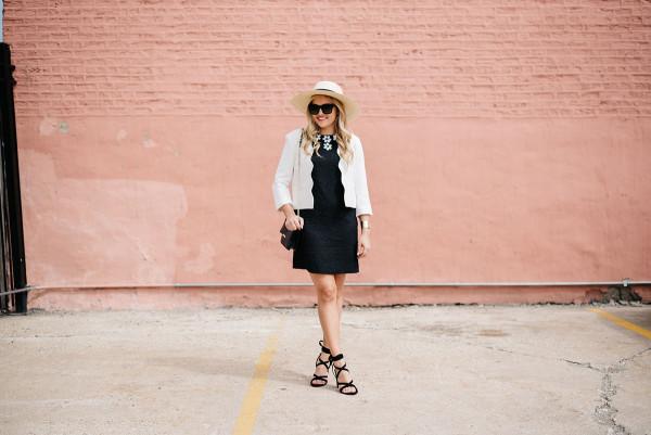 kentucky derby outfit black dress