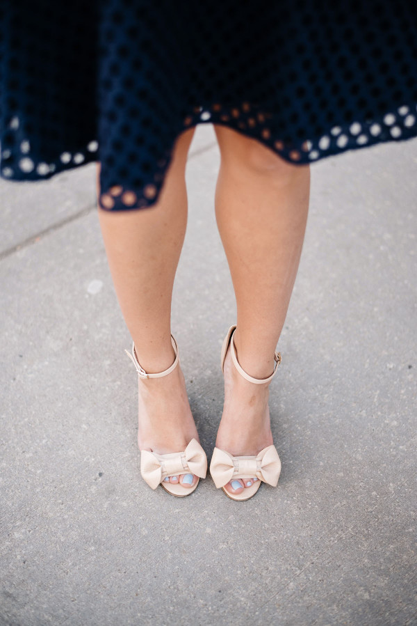 red valentino bow wedges bows on toes
