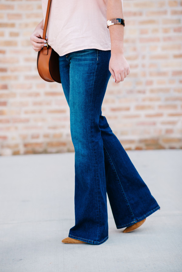 womens flare jeans outfit ideas