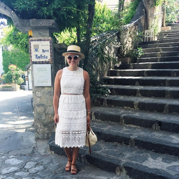 My outfit for wandering around Ravello yesterday! Not pictured thehellip