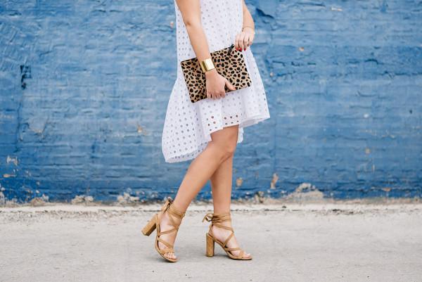 lace up sandals block heel