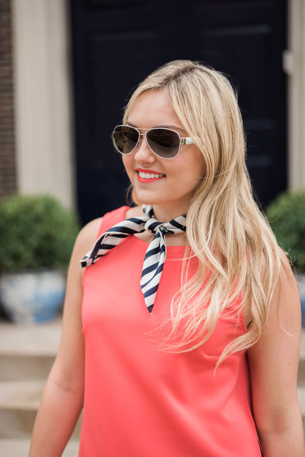 spring trend neck tie how to wear
