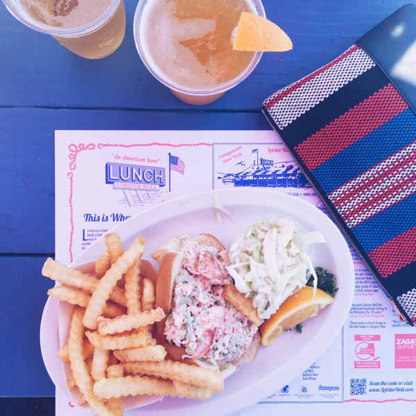 Bows & Sequins Travel Guide to The Hamptons in Montauk, New York: Lobster Roll at Lunch
