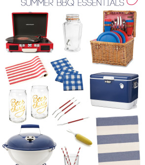 Bows & Sequins shares her round-up of summer BBQ must-haves!