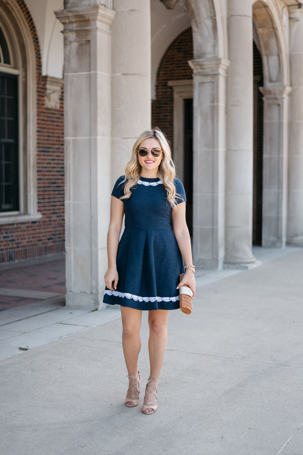 Sail to sables black lace dress