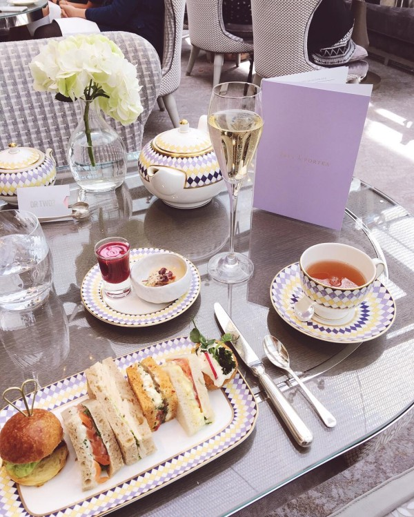Afternoon tea at theberkeley was such a treat! Its calledhellip