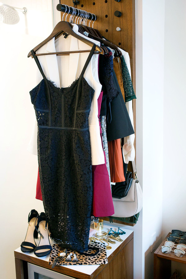 Jessica Sturdy of Bows & Sequins, a fashion-focused lifestyle blog, shares a little black dress that's great for a special occasion, such as a bachelorette party, in New York City.