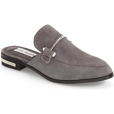Must-Have Fall Trend: Slip-On Loafers // Backless Suede Loafer