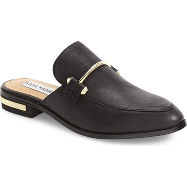 Must-Have Fall Trend: Slip-On Loafers // Backless Leather Loafer