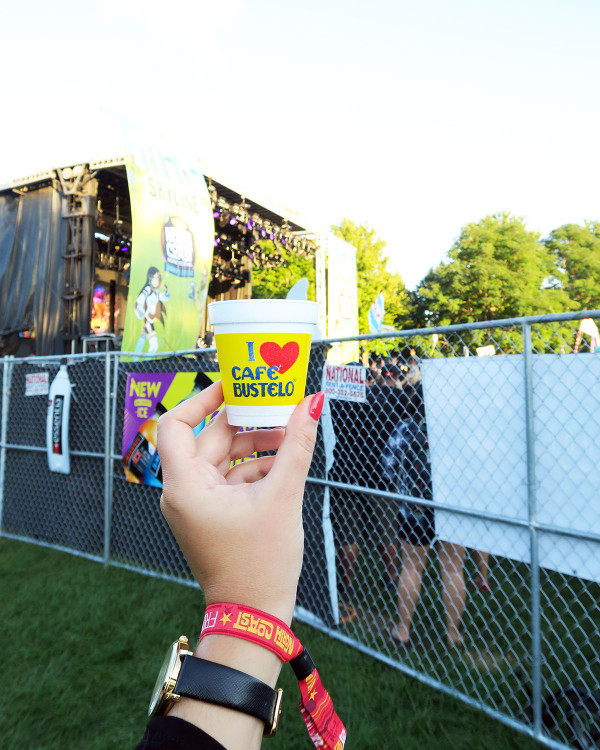 Cafe Bustelo Coffee at North Coast Music Festival