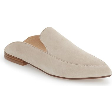 Must-Have Fall Trend: Slip-On Loafers // Suede Mules