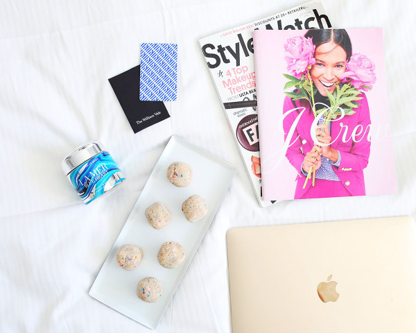 La Mer Blue Heart Colorful Jar, Gold Apple Macbook, Pink J.Crew Catalog StyleGuide Cover, Momofuku Milkbar Birthday Cake Truffles
