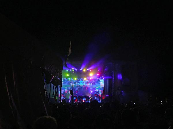 North Coast Music Festival DJ Set at Night