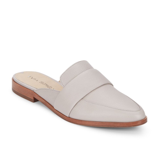 Must-Have Fall Trend: Slip-On Loafers // Neutral Leather Slides