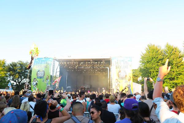 North Coast Music Festival in Chicago Skyline Stage DJ Set Galantis