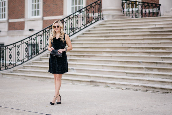Bows & Sequins styling a LBD for New Years Eve.