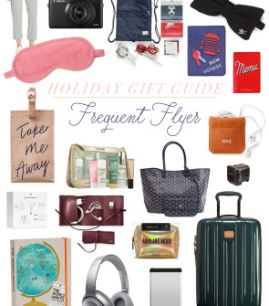 Best Gifts for the Frequent Flyer, Jetsetter, and Travel Aficionado | Bows & Sequins Gift Guide