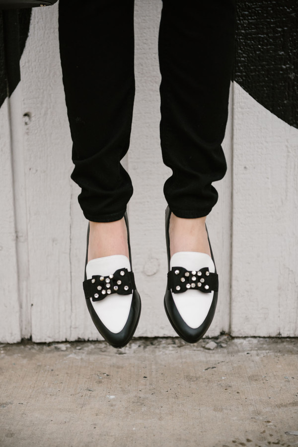 black-and-white-kate-spade-rhinestone-bow-loafers