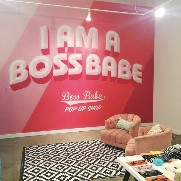 Boss Babe Pop Up Shop Chicago Block 37