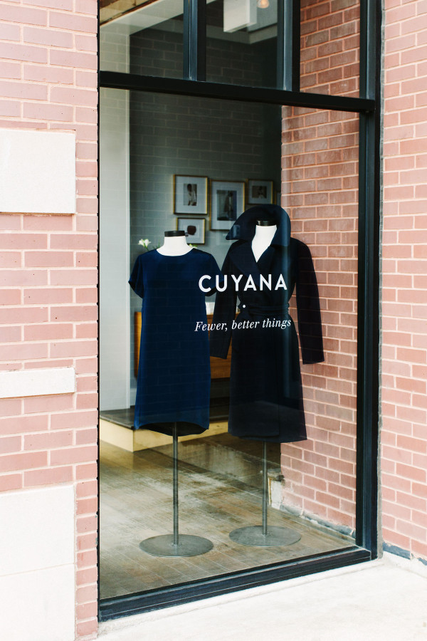 Cuyana Pop-Up Store in Chicago