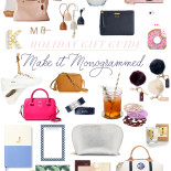 Gift Guide || Monograms