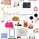 Gift Guide || Monograms