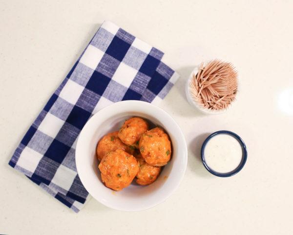 Buffalo Chicken Spicy Meatballs