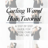 Hair Tutorial: How I Get My Loose Curls