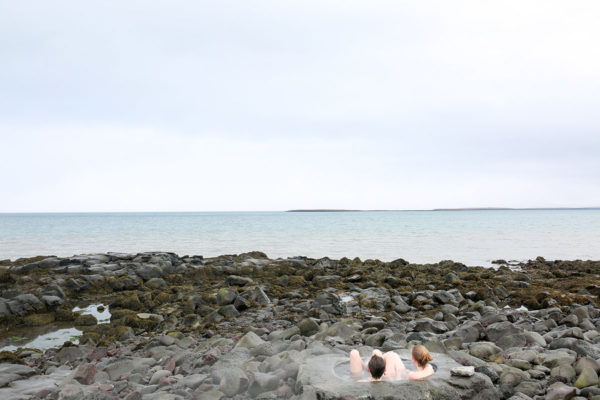 Bows & Sequins Iceland Travel Guide: Footbath by the Sea