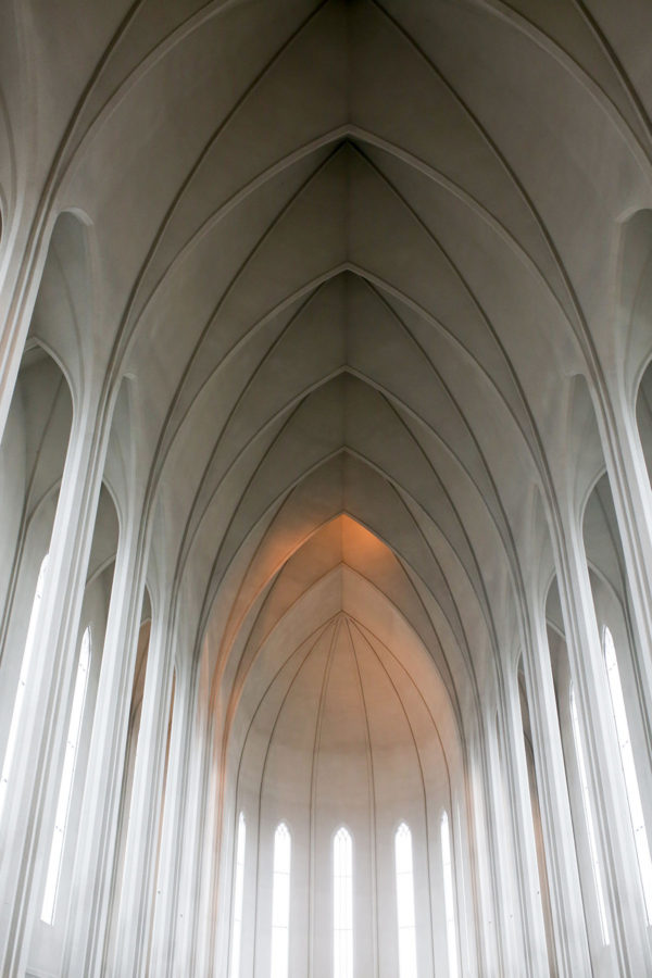Bows & Sequins Iceland Travel Guide: Inside Hallgrimskirkja Church