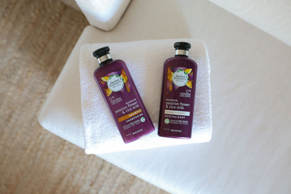 Bows & Sequins Beauty Review: Herbal Essences bio:renew Passion Flower & Rice Milk Shampoo & Conditioner
