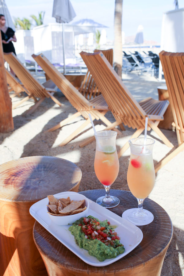 Bows & Sequins Hotel Review: Paradisus Los Cabos Food