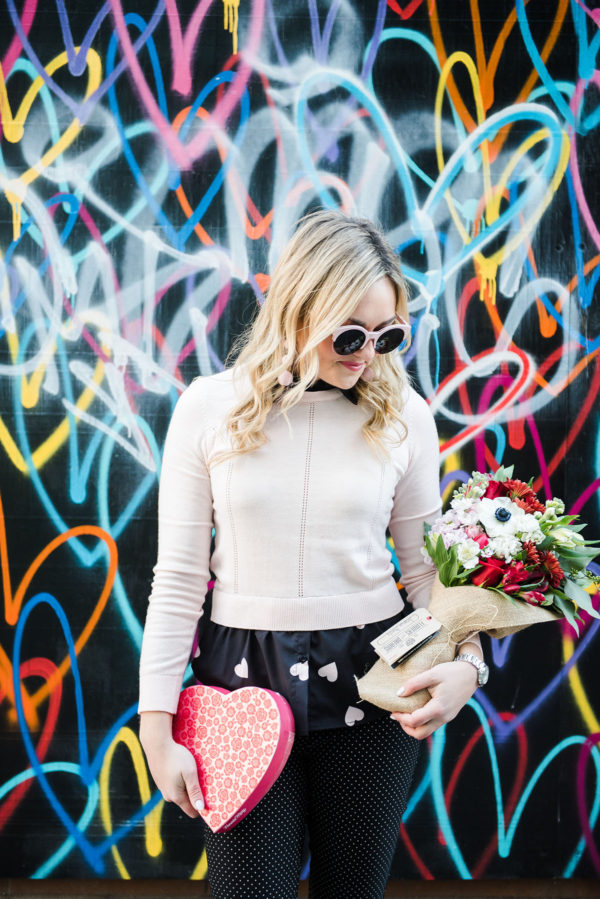 Bows & Sequins with a Flowers for Dreams bouquet in Chicago.