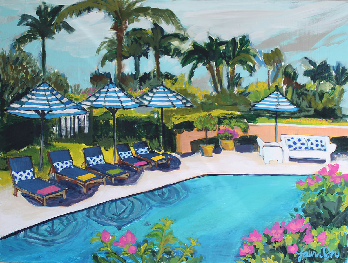 Laura Dro Designs Colony Hotel Palm Beach
