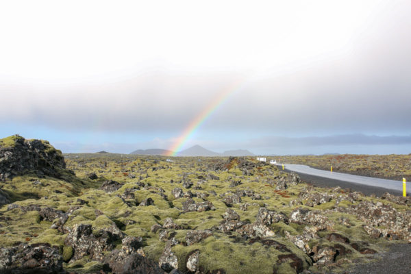 Rainbow in Iceland | Bows & Sequins Travel Guide