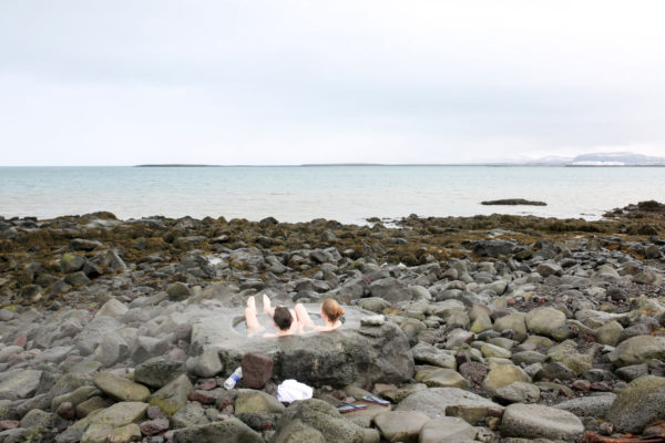 Bows & Sequins Iceland Travel Guide: Natural Outdoor Footbath