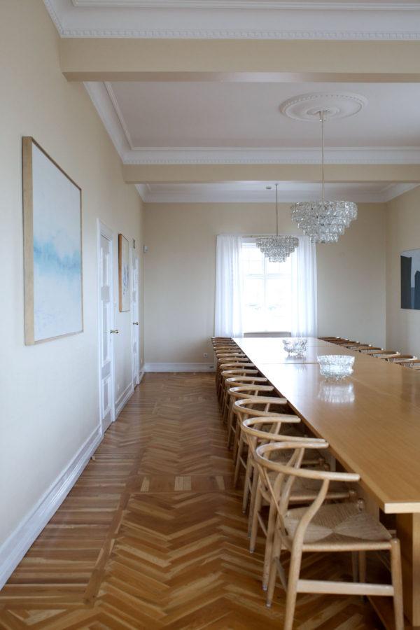 Bows & Sequins Iceland Travel Guide: Inside Hofdi House Reykjavik