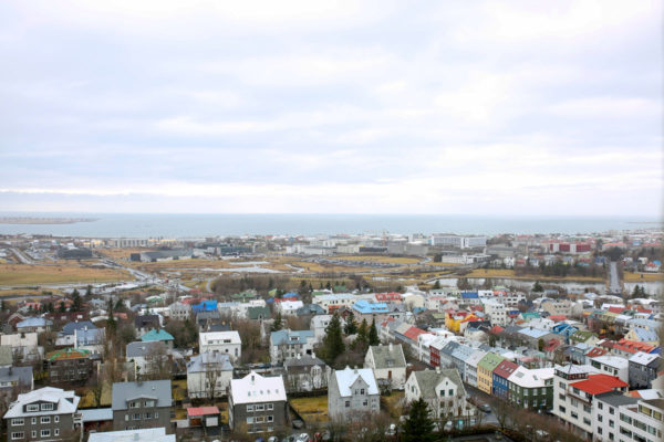Bows & Sequins Iceland Travel Guide: View from Hallgrimskirkja
