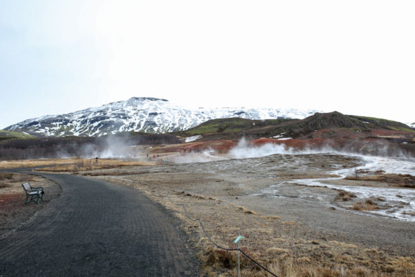 Bows & Sequins Iceland Travel Guide: Geysir Hot Spring Area on Golden Circle Tour